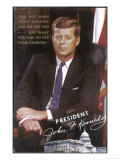 John Fitzgerald Kennedy President of the USA 1961-1963 Giclée-Druck