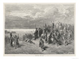 Xenophon Retreating into Persia Reaches the Black Sea Giclee Print