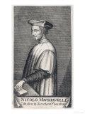 Niccolo Machiavelli Italian Political Theorist Giclee Print