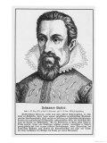Johannes Kepler German Astronomer Giclee Print