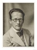 Erwin Schrodinger Austrian Physicist Giclee Print