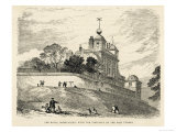 Greenwich Royal Observatory the Royal Observatory from Greenwich Park with the Time- Ball Giclee Print