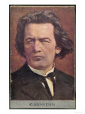 Anton Rubinstein, Russian Musician, Giclee Print