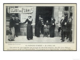 French Suffragettes Organise Their Own Parallel Election Giclee Print