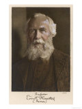 Ernst Haeckel German Scientist at Age 75, Giclee Print