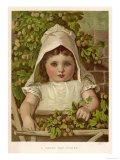 Young Hop-Picker Giclee Print