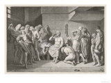 Socrates Greek Philosopher Taking Hemlock Giclee Print