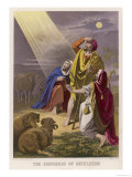 The Shepherds of Bethlehem Learn That Jesus Has Been Born, Giclee Print