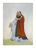 Lao-Tzu Chinese Philosopher Giclee Print