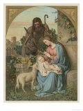 Classical Nativity Compostion Giclee Print