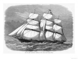 British Clipper for the China Tea Trade Which in 1868 Won the Ocean Race from China to England Giclee Print