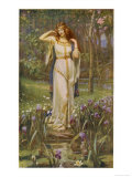 Freyja and the Necklace Premium Giclee Print