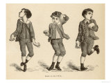 Boys Afflicted with Chorea Known as St. Vitus' Dance or as Danse de Saint-Guy in France Giclee Print