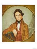 Robert Schumann German Musician Circa 1834, Giclee Print