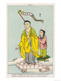 Amitabha the Buddha Who Guides Humans Towards the Paradise of the West Giclee Print
