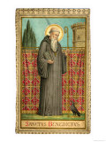 Saint Benedict of Nursia Giclee Print