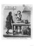 Scheele Discovers, Giclee Print