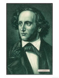 Felix Mendelssohn the German Composer as a Young Man Giclee Print
