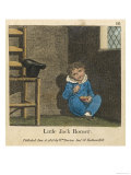 Little Jack Horner Sat in a Corner Eating a Christmas Pie Giclee Print