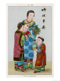 To the Chinese the Bamboo Plant is a Symbol of Peace and Good Health Giclee Print