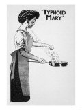 Mary Mallon Known as Typhoid Mary Giclee Print