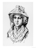 Marie-Olympe de Gouges, French Writer, Feminist, & Revolutionary, Giclee Print