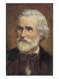 Giuseppe Verdi Italian Opera Composer Giclee Print