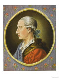 Johann Wolfgang Von Goethe German Writer and Scientist as a Young Man Giclee Print