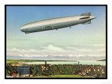 LZ 127 Graf Zeppelin Giclee Print