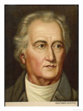 Johann Wolfgang Von Goethe German Writer and Scientist Giclee Print