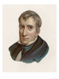 William Henry Harrison President of the United States for One Month: The First to Die in Office Giclee Print