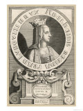 Adelheide Queen Queen of Louis le Begue King of France Giclee Print