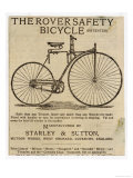 Faster and Easier Than Any Bicycle Ever Made Reproduction procédé giclée