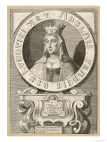 Adele Queen of Louis VI le Gros King of France Giclee Print
