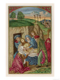 After the Crucifixion His Body is Placed in the Tomb Giclee Print