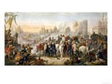 The Relief of Lucknow Where the Garrison and Residents Had Been Besieged by Sir Colin Campbell Giclee Print