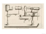 Buonanni&#39;s Horizontal Microscope Giclee Print