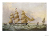 American Sailing Packet Giclee Print