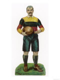 Rugby Footballer Giclee Print