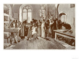 Tsar Ivan IV Visits the Printing Establishment of Ivan Fedoroff Giclee Print