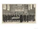 Newly Qualified Barristers Called to the Bar at the Inner Temple London Giclee Print