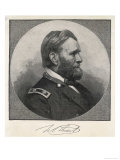 Ulysses S Grant American Civil War General and Later President Giclee Print