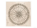 Compass Rose Giclee Print