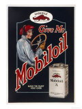 Mobiloil Motor Oil for the Woman Motorist Giclee Print