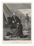 Ulysses S Grant American Soldier and President Reproduction procédé giclée