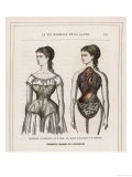 What a Corset Does for and to a Girl Reproduction procédé giclée