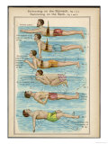Learning to Swim Giclee Print