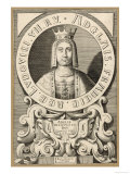 Adele Queen Third Wife of Louis VII le Jeune King of France Giclee Print