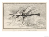 Thomas Alva Edison's Flying Ship the Larger of His Two Projected Flying Machines Giclee Print