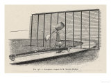 Phillips&#39;s Project the Steam-Powered Flying Machine of Horatio Phillips Giclee Print